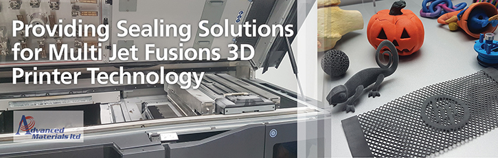 Advanced Materials & HP work together to seal components of the HP Jet Fusion 3D printer